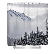 Kananaskis Country In Winter, Peter Shower Curtain