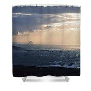 Kenmare Bay, Co Kerry, Ireland Shower Curtain