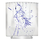 Kiganda Dance - Uganda Shower Curtain