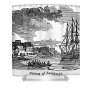 King Georges War, 1745 Shower Curtain