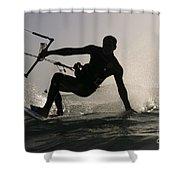 Kitesurfing Board Shower Curtain