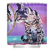 Kitten Image Shower Curtain
