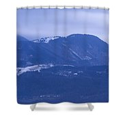 Krvavec And The Kamnik Alps At Dawn Shower Curtain