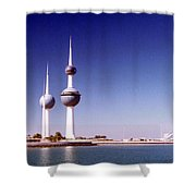 Kuwait Towers Shower Curtain
