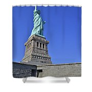 Lady Liberty 12 Shower Curtain