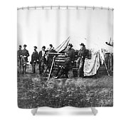 Lafayette Curry Baker Shower Curtain