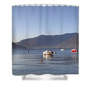 Lago Maggiore Shower Curtain by Joana Kruse