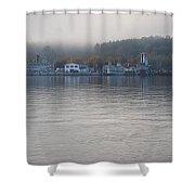 Lake George New York Shower Curtain