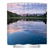 Lake Matheson Shower Curtain