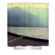 Lake Of Como Shower Curtain