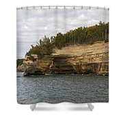 Lake Superior Pictured Rocks 50 Shower Curtain