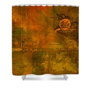 Landscape Of Mars Shower Curtain