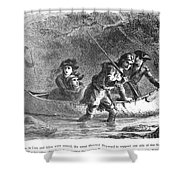 Last Of The Mohicans, 1872 Shower Curtain