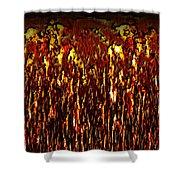 Lava And Brimstone Shower Curtain