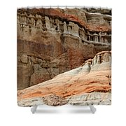 Layers Of Time Shower Curtain