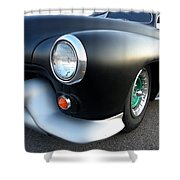 Lean Mean Racing Machine Shower Curtain by Sarah Lamoureux
