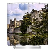 Leeds Castle Kent England Shower Curtain