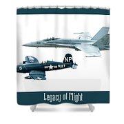 Legacy Of Flight Shower Curtain