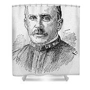 Leonard Wood (1860-1927) Shower Curtain by Granger