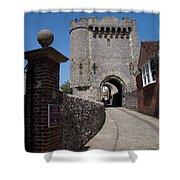Lewes Castle Shower Curtain