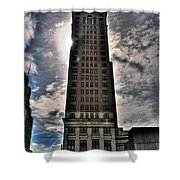 Liberty Building Shower Curtain