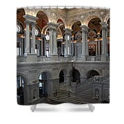 Library Of Congress - Washington D C Shower Curtain