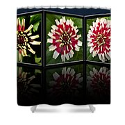 Life Of A Zinnia Shower Curtain