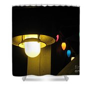 Light And Lights Shower Curtain