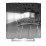 Lighthouse Dreaming  Shower Curtain
