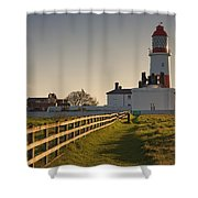 Lighthouse South Shields, Tyne And Shower Curtain