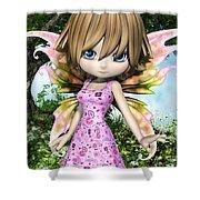 Lil Fairy Princess Shower Curtain