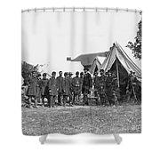 Lincoln & Mcclellan Shower Curtain