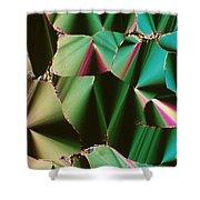 Liquid Crystalline Dna Shower Curtain