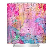 Little Miracles Shower Curtain by Rachel Christine Nowicki