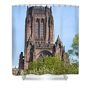 Liverpool Anglican Cathedral Shower Curtain