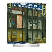 Living With Art Shower Curtain