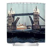 London Tower Bridge Shower Curtain