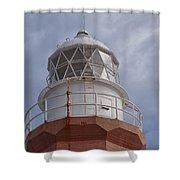 Long Point Lighthouse Shower Curtain