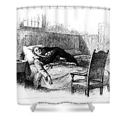 Longfellow: Evangeline Shower Curtain