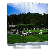 Longwood Gardens Fountain Garden Shower Curtain