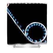 Loop The Loop Shower Curtain