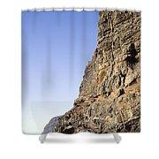 Los Gigantes Cliffs Shower Curtain