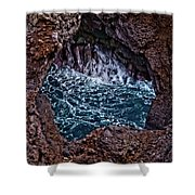 Los Hervideros Shower Curtain