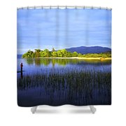 Lough Gill, Co Sligo, Ireland Shower Curtain