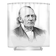 Louis Agassiz (1807-1873) Shower Curtain