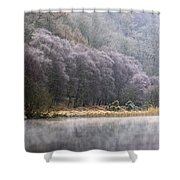 Lower Lake, Glendalough, County Shower Curtain