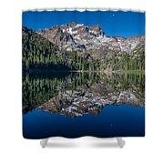 Lower Sardine Lake  Shower Curtain