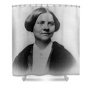 Lucy Stone, American Abolitionist Shower Curtain by Photo Researchers