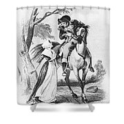 Lydia Darragh, American Patriot Shower Curtain