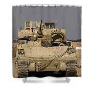 M2m3 Bradley Fighting Vehicle Shower Curtain